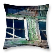 Old Salt Window Throw Pillow
