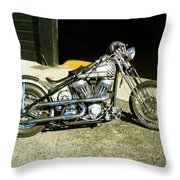 Old School Bobber Throw Pillow