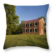 Old Schoolhouse Throw Pillow