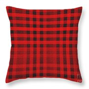Old Scottish Cage Throw Pillow
