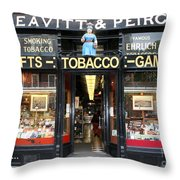 Old Shoppe - Boston Throw Pillow