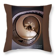 Old Southern Spiral Staircase Throw Pillow by John Malone