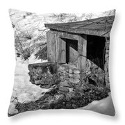 Old Spring House Throw Pillow