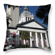 Old State Capitol - Florida Throw Pillow