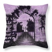 Old Stone Archway  Throw Pillow