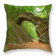 Old Stone Bridge  Throw Pillow