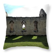 Old Stone Church 3 Throw Pillow