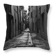 Old Street Throw Pillow