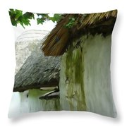 Old Style Throw Pillow