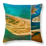 Old Style Topsail Throw Pillow