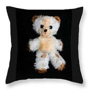 Old Teddy Bear Pepi Throw Pillow