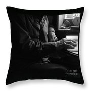 Old Testament Wisdom Throw Pillow