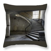 Old Theater Stairs Throw Pillow