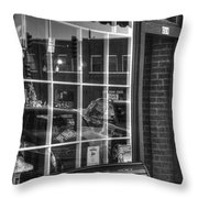 Old Time Barber Shop Throw Pillow