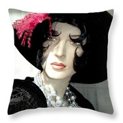 Old Time Elegance Throw Pillow