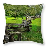 Old Time Tradition Throw Pillow