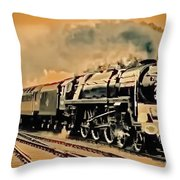 Old Timer T Throw Pillow
