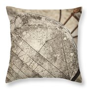 Old Tombstone Throw Pillow