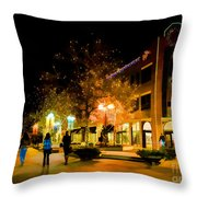 Old Town Christmas Throw Pillow
