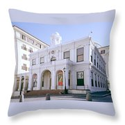 Old Town House Throw Pillow