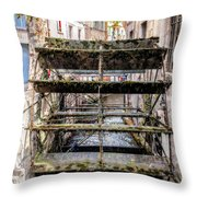 Old Town Mill Throw Pillow