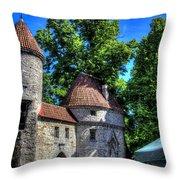 Old Town - Tallin Estonia Throw Pillow