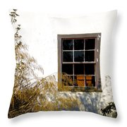 Old Town Window Throw Pillow