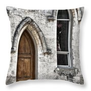 Old Traditions Throw Pillow