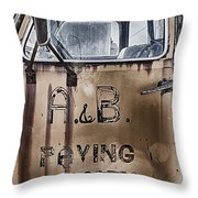 Old Truck 5 Throw Pillow