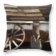 Old Tub Throw Pillow by Enzie Shahmiri