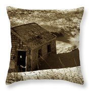 Old Tyme Cape Cod Throw Pillow