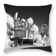Old Vegas Throw Pillow