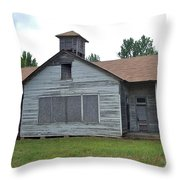 Old Virginia Church Throw Pillow
