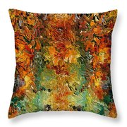 Old Wall By Rafi Talby Throw Pillow