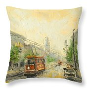 Old Warsaw - Poland Throw Pillow