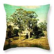 Old Water Throw Pillow