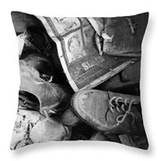 Old Wilted News  Throw Pillow