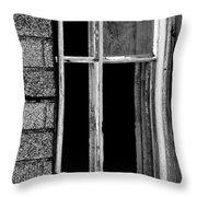 Old Window 2  Throw Pillow