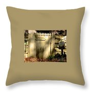 Old Windways Farm Throw Pillow