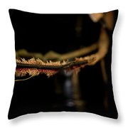 Old Wires 1948 Harley Davidson Throw Pillow