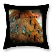 Old Wires Throw Pillow