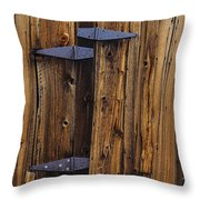 Old Wood Barn Throw Pillow