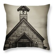 Old Wooden Sanctuary Throw Pillow