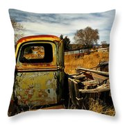 Old Workhorse Throw Pillow
