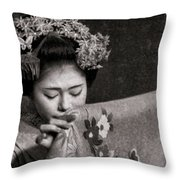 Old World Tradition Throw Pillow
