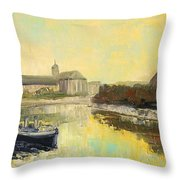 Old Wroclaw - Poland Throw Pillow