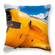 Old Yeller Throw Pillow