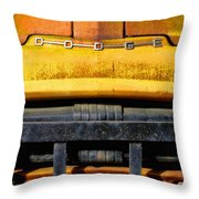 Old Yellow By Diana Sainz Throw Pillow