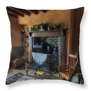 Olde Cottage Throw Pillow