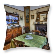 Olde Dining Room Throw Pillow